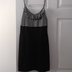 Forever21 Striped Ruffle Dress